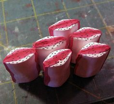 FREE tutorial Kael Mijoy:  Red Lilyish Flower Cane