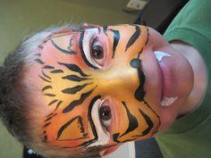 tiger face paint austin texas