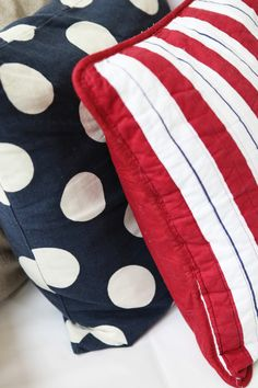 Cute fourth of July pillows!