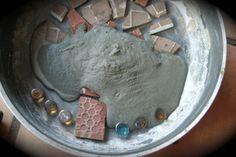 Video Tutorial: DIY Mosaic Stepping Stones
