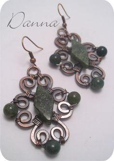 Spring Earrings - Copper Wire Jewelers