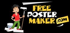 FREE Poster Maker - looks like fun!