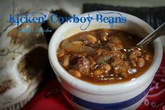 Kickin Cowboy Baked Beans