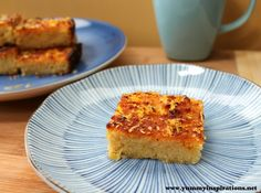 Grain Free Lemon Drizzle Cake Recipe