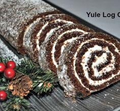 A Buche de Noel – The Yule Log Cake