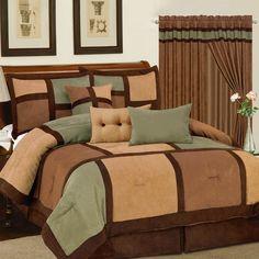 Master bedroom ideas on pinterest headboards tree for Bedroom ideas earth tones