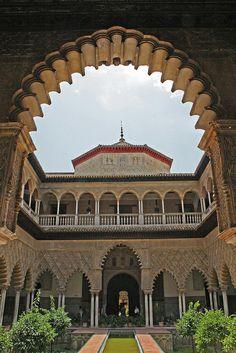Real Alcazar, Sevilla Spain