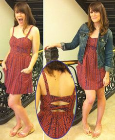 THIS IS THE DRESS I WANT AT AMERICAN EAGLE MOMMM!
