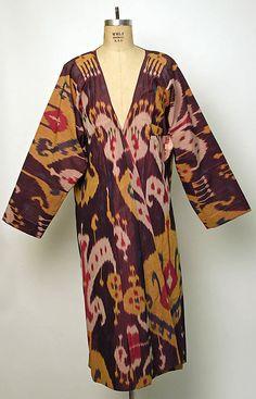 Ikat Caftan cotton, fashion, ethnic, costumetextil, cloth, dress, batik, caftan, fabricprint