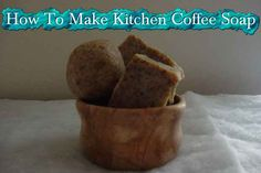 How To Make Kitchen Coffee Soap