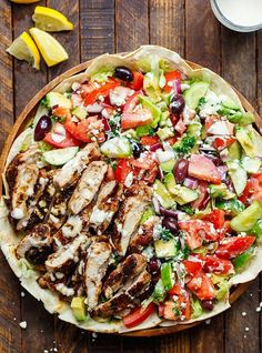 Shawarma as salad? Y