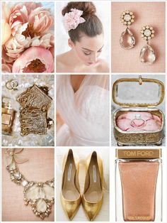 Blush Pink and Gold | PosyRosy