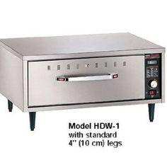#4: Hatco HDW-1 Single-Drawer Warmer.