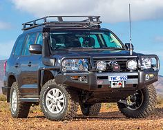 New #ARB Product: 2012 #Toyota Land Cruiser 200 Series Deluxe #Winch #Bumper Part No. 3415150
