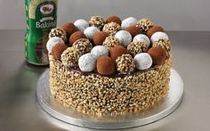 Tempting Chocolate Truffle Cake by Andy Bates