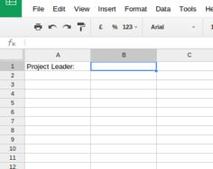 Drop-Down Select Boxes in Google Sheets