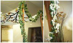 free standing, DIY, natural chuppah http://www.themodernjewishwedding.com/?p=20890
