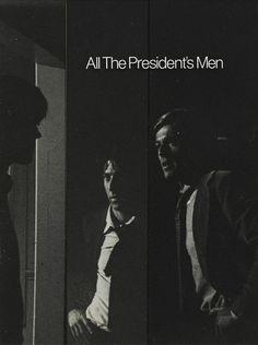 Poster Design forAll The President's Men(Alan J. Pakula, 1976)