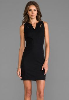 GREYLIN Victoria Cutout Dress in Black cutout dress, dream closet, mobil, fun cloth, effortless style, dresses, fashion diva, lbd, black