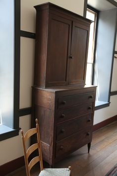 Shaker Village Ky, example of a simple but complexly built wardrobe