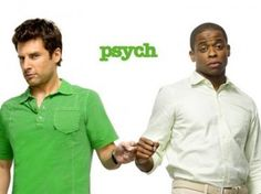 psych. i love campy. i love pop culture references. perfect dynamic between characters.
