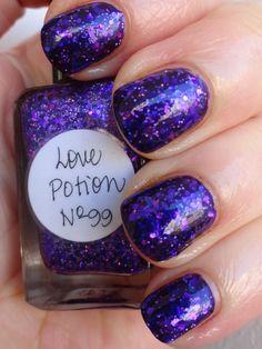 Lynnderella Love Potion No99 over Revlon Grape