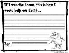 If I was the Lorax...