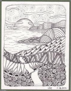 Zen landscape by val71655, via Flickr