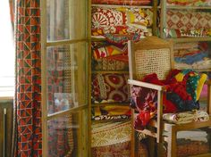 Boho - Colourful textiles from India