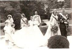 Crownprince Mihai of Romania and Anne Bourbon -Parma