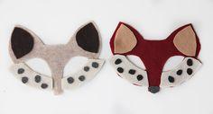 DIY No-Sew Animal Masks (Free Template)