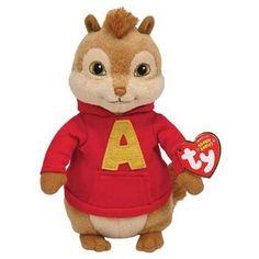 TY Beanie Babies Alvin Chipmunk