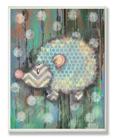 Loving this Woodland Porcupine Wall Plaque on #zulily! #zulilyfinds