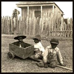 Slaves, ex slaves, children of slaves in the American South 1860 -1900