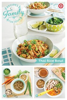 Need a nutritious meal in just minutes? This Thai rice bowl will hit the spot.