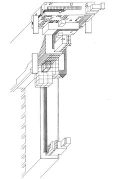 ZAHA HADID    MALEVICH'S TEKTONIK, A HOTEL ON THE THAMES, 1976-77