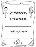 Freebielicious: Halloween Costume Writing