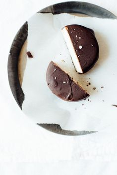 vegan frozen s'more sandwiches   dolly and oatmeal