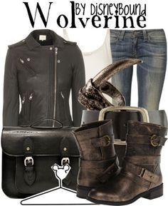Disney Bound: Wolverine (hehe had to post this, I love wolverine :)