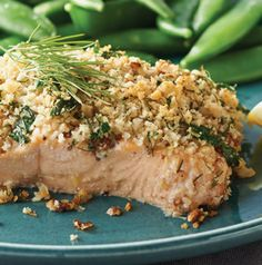 Salmon and dill are best friends, but we've brought other savory flavors into the mix with this Encrusted Salmon Fillets recipe. Easy enough for every day, but impressive enough to serve to guests.