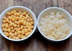 Perfectly smooth homemade humus... Peel the chickpeas