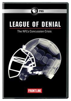 League of Denial: The NFL's Concussion Crisis / HU DVD 6721 / http://catalog.wrlc.org/cgi-bin/Pwebrecon.cgi?BBID=13368582