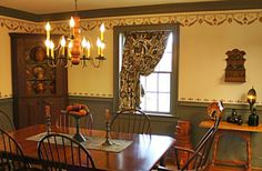 Early American Floorcloths - Awesome decorating place!