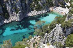 Calanque d'En-Vau between #Marseille and #Cassis