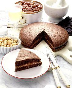 La torta con le nocciole