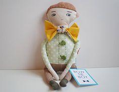 bow tie boy  by handmade romance