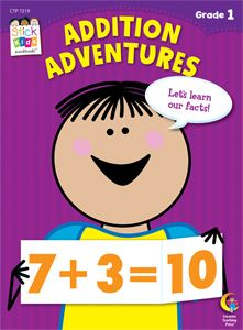 Great addition book for first graders or getting your kids ready for first grade!
