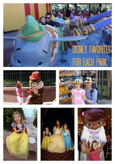 Our Favorite Things To Do In Disney World Disney World trip planning made easy:  A quick list of 5 things not to miss in each park