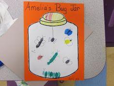 finger print bug jar