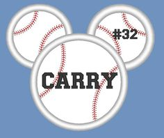 Baseball or Softball Mouse Applique Machine by EmbellishStar